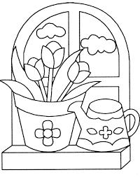 Tulipe Coloriage Beau Tulipe Noire La Fleur Idée D Image De Fleur