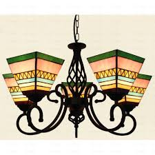 Exquisite 5 Light Chandelier Lyric Country Style