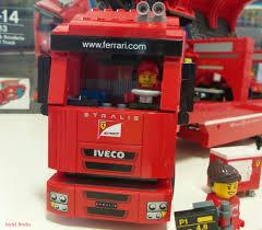 100 Ferrari Truck F14 T Scuderia Joyful Bricks