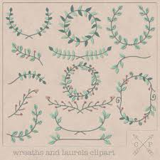 Rustic Garland Cliparts