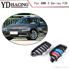 3 Series F30 ABS Mesh Gloss Auto Front Grill Grille For BMW F30 ...