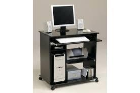 pc de bureau carrefour bureau d ordinateur pas cher bureau dordinateur pop noir brillant
