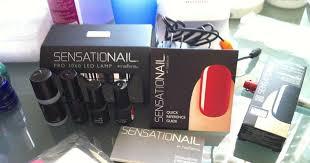 Sensationail Pro 3060 Led Lamp by Golden Pouchcakes Nailene Sensationail Kit U2013 Success