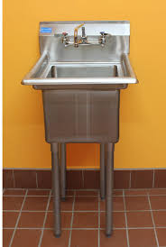 Stainless Steel Utility Sink With Legs by Amgood Commercial Stainless Steel Sink 1 Compartment Restaurant