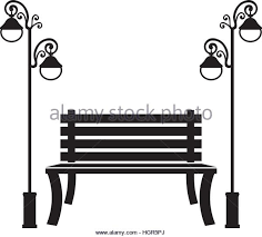 Park Bench Icon Image Vector Stock s & Park Bench Icon Image