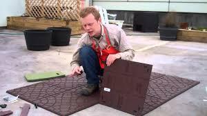image of rubber deck tiles rubber deck tiles ideas home decor