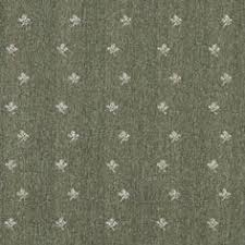 Green And Beige Mini Flowers Country Upholstery Fabric By The Yard