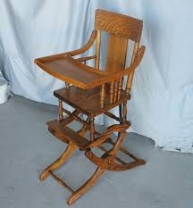 Bargain John's Antiques   Oak Collapsible High Chair Up And Down ... Amazoncom Ffei Lazy Chair Bamboo Rocking Solid Wood Antique Cane Seat Chairs Used Fniture For Sale 36 Tips Folding Stock Photos Collignon Folding Rocking Chair Tasures Childs High Rocker Vulcanlyric Modern Decoration Ergonomic Chairs In Top 10 Of 2017 Video Review Late 19th Century Tapestry Chairish Old Wooden Pair Colonial British Rosewood Deck At 1stdibs And Fniture Beach White Set Brown Pictures Restaurant Slat