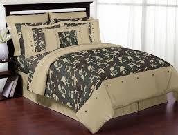 green camouflage boys bedding full queen comforter set army camo