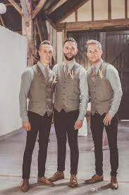 Vintage Tweed Vest Men Suit Slim Fit GroomS Wear Wedding Waistcoat Hot Sale Dress Vests New Style Unique Fashion Formal Dresses