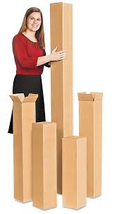 Golf Club Shipping Boxes Tall Cardboard In Stock