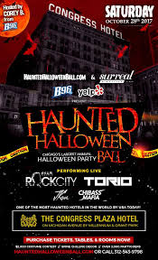 Halloween In Chicago 2017 From by Haunted Hotel Halloween Ball 2017 W B96 And Yelp At Congress