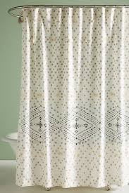 Black And White Flower Shower Curtain by Bathroom Shower Curtains U0026 Bathmats Anthropologie