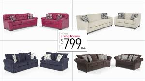 Bobs Furniture Sectional Sofa Bed by Two Piece Living Room Sets For 799 Bob U0027s Discount Furniture