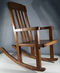 Baby: Rocking Chair Chaise Longue Solid Oak