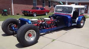 100 Rat Rod Semi Truck This DualEngined Small Block ChevyPowered Postal Jeep Is The Best
