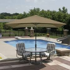Offset Rectangular Patio Umbrellas by Home Decor Amusing Rectangular Patio Umbrella Plus Fim Flexy