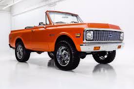 100 K5 Truck 1971 Chevrolet Blazer THE ORANGE CRUSH