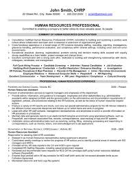 Top Human Resources Resume Templates Samples