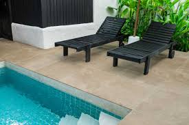 porcelain tiles travertine drop pavers pool coping outdoor