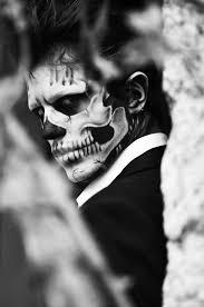 Halloween Half Mask Makeup by Best 25 Half Skull Makeup Ideas On Pinterest Half Skull Half