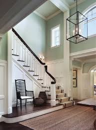Wainscot On Staircase Love The Colors More