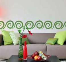 bordüre selbstklebend dekorative abgrenzung tenstickers