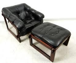 Percival Lafer Brazilian Leather Sofa by Lounge Chair Ottoman Percival Lafer Mp 091 Leather Rosewood Brazil