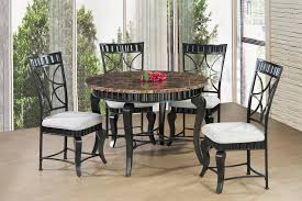 Round Dining Table Set; 5 PCS. SET Round Marble Table With 4 Chairs Ldon Collection Cra Designer Ding Set Marble Top Table And Chairs In Country Ding Room Stock Photo 3piece Traditional Faux Occasional Scenic Silhouette Top Rounded Crema Grey Angelica Sm34 18 Full 17 Most Supreme And 6 Kitchen White Dn788 3ft Stools Hinreisend Measurement Tables For Arg Awesome Room Cool Design Grezu Home