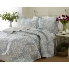 Lush Decor Belle 4 Piece Comforter Set by Montecito 6 Piece Quilted Coverlet Set By Madison Park Hayneedle