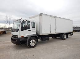 100 Used Box Trucks For Sale By Owner 2009 ISUZU FVR 26 FT BOX VAN TRUCK FOR SALE 11398