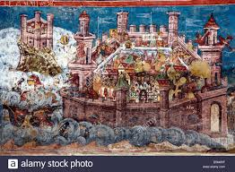unesco siege moldovita monastery paintings the siege of constantinople