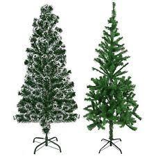 Realistic Green Christmas Trees 2 4 5 6 7ft Xmas Festive Decoration