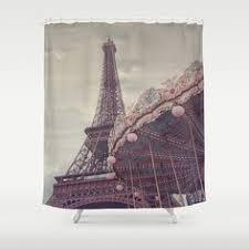 Paris Eiffel Tower Bathroom Accessories by Paris Eiffel Tower Shower Curtain Bathroom Decor By Rubyandb