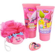 Bath Gift Sets At Walmart by Dreamworks Trolls Soap U0026 Scrub Gift Set 4 Pc Walmart Com