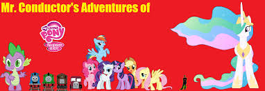 Thomas Halloween Adventures Dailymotion by Mr Conductor U0027s Adventures Of My Little Pony Friendship Is Magic