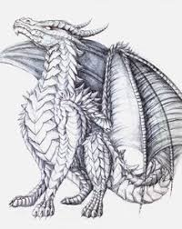 Hard Coloring Pages Of Dragons 03