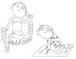 Charlie Lola Coloring Pages