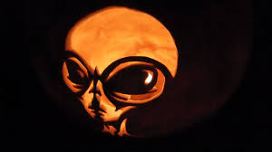 Pumpkin Carving Stencils 2015 by Roswell U0027s Ufo Grey Alien Carving In Pumpkin Form For Halloween