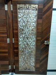 Laser Cut Main Door Grill In Brass Antique Finish Stahldecor