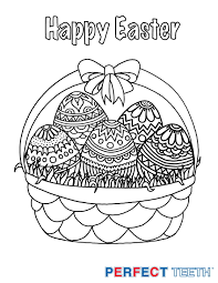 The Easter Bunny Free Coloring Pages And Have A Happy Beautiful Spring If Brings You Toothache Find Dentist