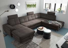 alba wohnlandschaft 349x233 cm braun grau espresso günstig möbel küchen büromöbel kaufen froschkönig24