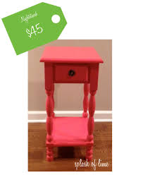 Jenny Lind High Chair Tray by Splash Of Lime High Low Jenny Lind Nightstand