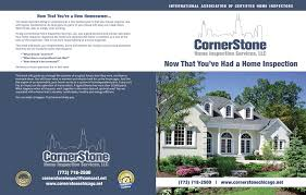 100 Cornerstone Home Design InterNACHI Inspection Graphics Library Custom Maintenance