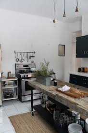 Design Inspiration Industrial Rustic Open Kitchens