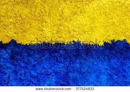 Blue And Yellow Carpet For Backgrounds Or Textures