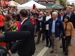 Pumpkin Festival Circleville Ohio 2 by In Ohio Mike Pence Visits The Circleville Pumpkin Show Where You
