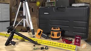 Home Depot Floor Leveler by Johnson Self Leveling Rotary Laser Level Kit 40 6517 A Fine