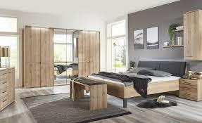 uno schlafzimmer 4 teilig holzfarben komplett schlafzimmer möbel kraft