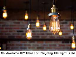 19 Awesome DIY Ideas For Recycling Old Light Bulbs Lil Moo